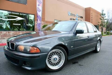 2000 BMW 5 Series for sale at CK Motors in Murrieta CA