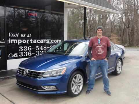 2017 Volkswagen Passat for sale at importacar in Madison NC