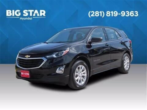 2018 Chevrolet Equinox for sale at BIG STAR HYUNDAI in Houston TX