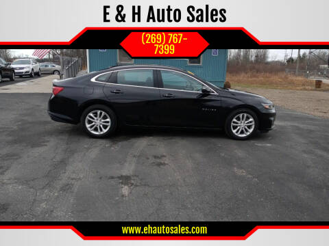 2018 Chevrolet Malibu for sale at E & H Auto Sales in South Haven MI