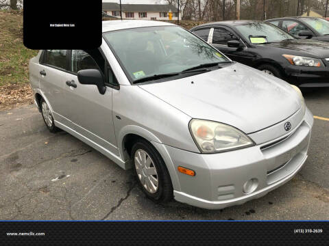 2003 Suzuki Aerio for sale at New England Motor Cars in Springfield MA