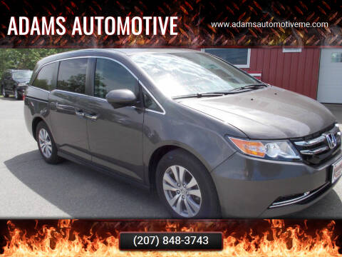 2017 Honda Odyssey for sale at Adams Automotive in Hermon ME