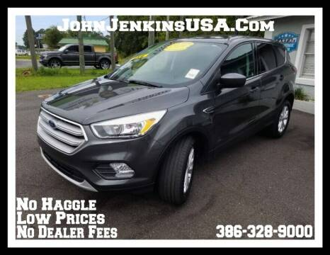 2019 Ford Escape for sale at JOHN JENKINS INC in Palatka FL