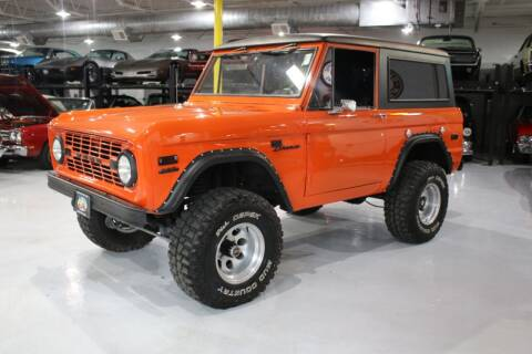1972 Ford Bronco for sale at Great Lakes Classic Cars in Hilton NY