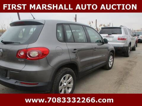 2010 Volkswagen Tiguan for sale at First Marshall Auto Auction in Harvey IL