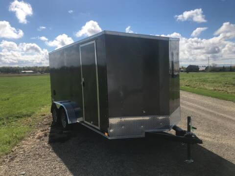 2022 Pace American 7x14 V-Nose Tandem Axle 7K