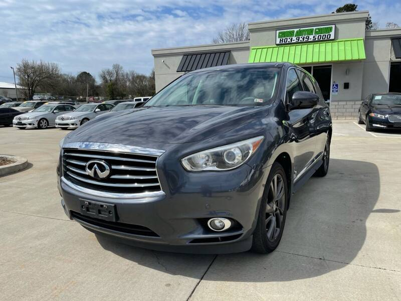 2013 Infiniti JX35 for sale at Cross Motor Group in Rock Hill SC