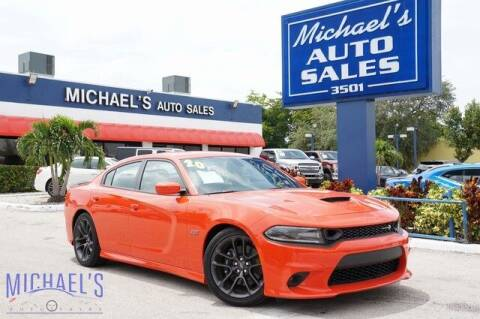 2020 Dodge Charger for sale at Michael's Auto Sales Corp in Hollywood FL