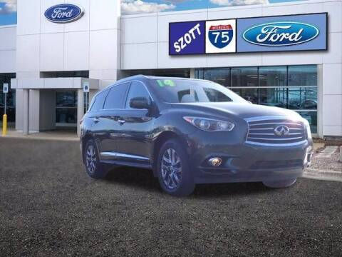 2014 Infiniti QX60 for sale at Szott Ford in Holly MI