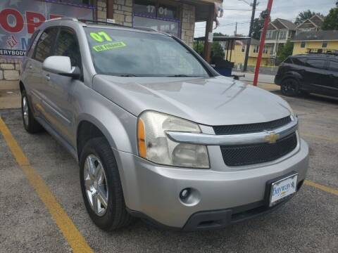 2007 Chevrolet Equinox for sale at USA Auto Brokers in Houston TX
