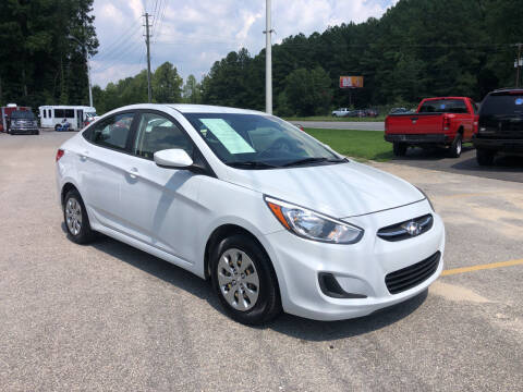 2017 Hyundai Accent for sale at Galaxy Auto Sale in Fuquay Varina NC