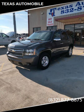 2011 Chevrolet Tahoe for sale at TEXAS AUTOMOBILE in Houston TX