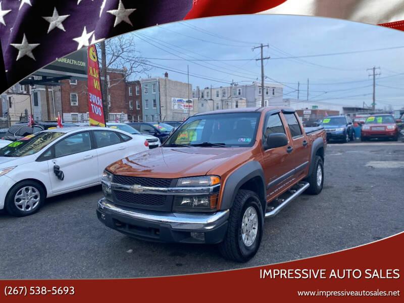 2004 Chevrolet Colorado for sale at Impressive Auto Sales in Philadelphia PA