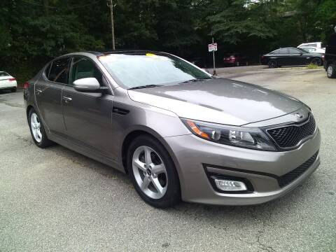 2015 Kia Optima for sale at Import Plus Auto Sales in Norcross GA