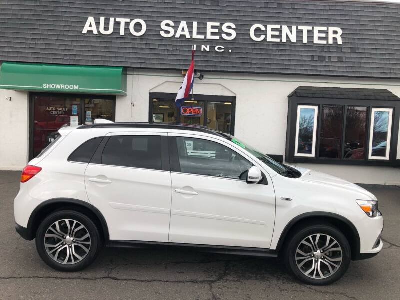 2017 Mitsubishi Outlander Sport for sale at Auto Sales Center Inc in Holyoke MA