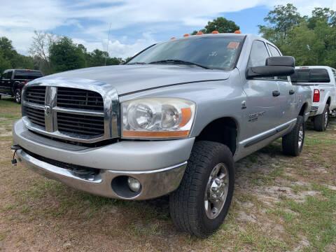 2006 Dodge Ram Pickup 2500 for sale at Gator Truck Center of Ocala in Ocala FL