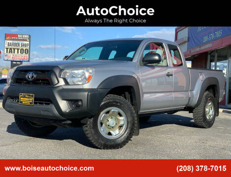 2015 Toyota Tacoma for sale at AutoChoice in Boise ID