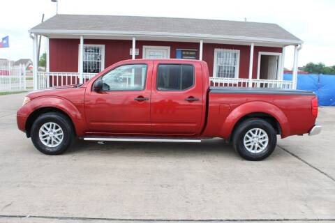 2017 Nissan Frontier for sale at AMT AUTO SALES LLC in Houston TX