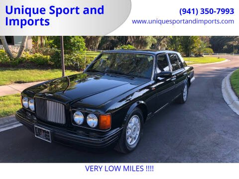 1996 Bentley Brooklands for sale at Unique Sport and Imports in Sarasota FL