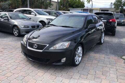 2007 Lexus IS 250 for sale at Citywide Auto Group LLC in Pompano Beach FL