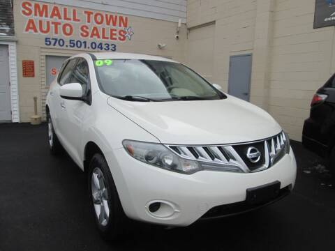 2009 Nissan Murano for sale at Small Town Auto Sales in Hazleton PA