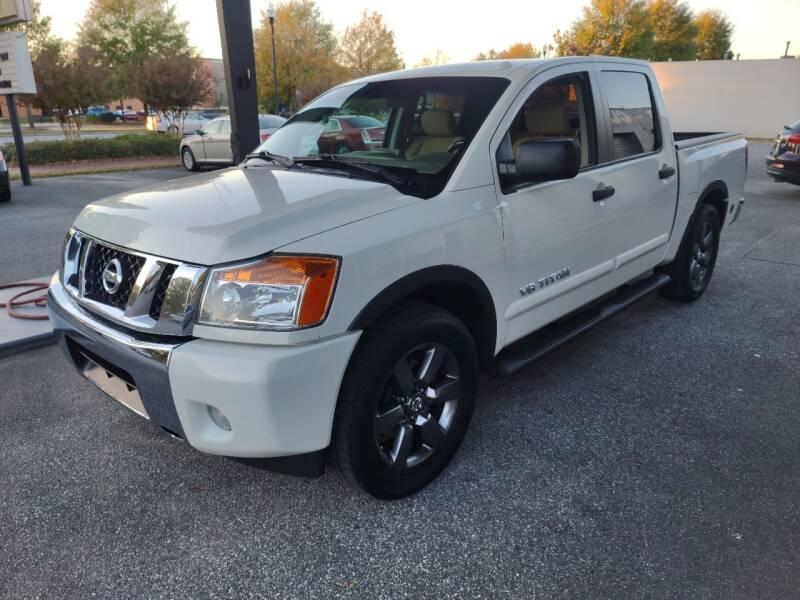 2015 Nissan Titan for sale at DON BAILEY AUTO SALES in Phenix City AL