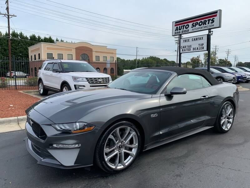 2019 Ford Mustang for sale at Auto Sports in Hickory NC