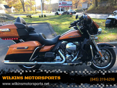 2016 Harley-Davidson Electra Glide Ultra Limited for sale at WILKINS MOTORSPORTS in Brewster NY