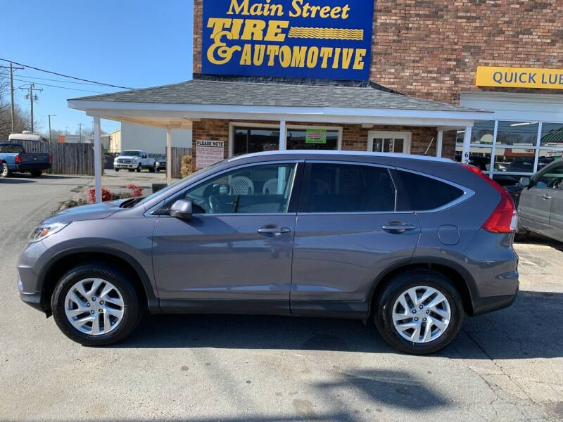 2016 Honda CR-V for sale at Main Street Auto LLC in King NC
