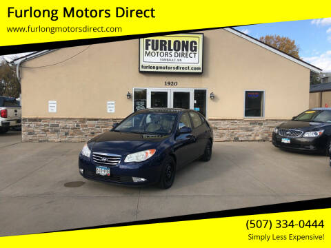 2010 Hyundai Elantra for sale at Furlong Motors Direct in Faribault MN