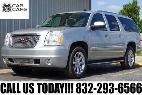 2013 GMC Yukon XL for sale at CAR CAFE LLC in Houston TX