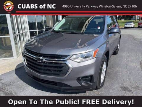 2019 Chevrolet Traverse for sale at Credit Union Auto Buying Service in Winston Salem NC