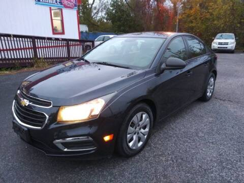 2016 Chevrolet Cruze Limited for sale at CARFIRST ABERDEEN in Aberdeen MD