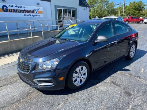2015 Chevrolet Cruze for sale at Huggins Auto Sales in Ottawa OH