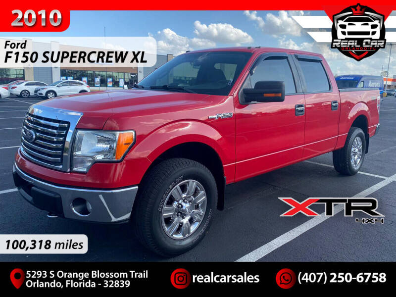2010 Ford F-150 for sale at Real Car Sales in Orlando FL