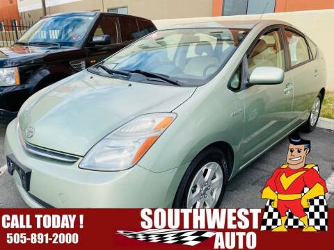 2006 Toyota Prius for sale at SOUTHWEST AUTO in Albuquerque NM