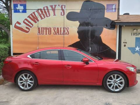 2014 Mazda MAZDA6 for sale at Cowboy's Auto Sales in San Antonio TX