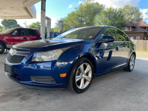 2012 Chevrolet Cruze for sale at JE Auto Sales LLC in Indianapolis IN