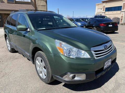 2010 Subaru Outback for sale at BERKENKOTTER MOTORS in Brighton CO