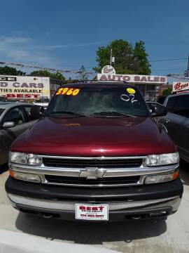 2002 Chevrolet Tahoe for sale at Best Auto & tires inc in Milwaukee WI