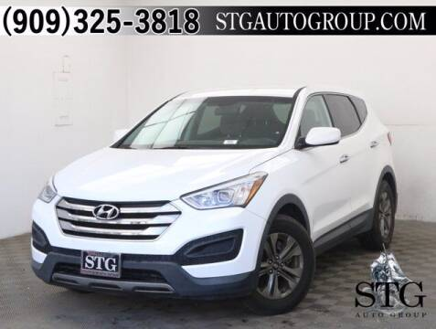 2016 Hyundai Santa Fe Sport for sale at STG Auto Group in Montclair CA