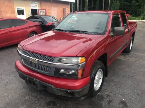 2006 Chevrolet Colorado for sale at Magic Motors Inc. in Snellville GA