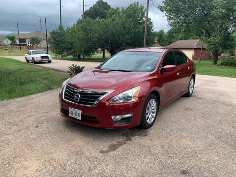 2014 Nissan Altima for sale at CARWIN MOTORS in Katy TX