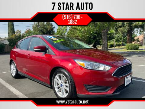 2017 Ford Focus for sale at 7 STAR AUTO in Sacramento CA