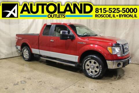 2010 Ford F-150 for sale at AutoLand Outlets Inc in Roscoe IL