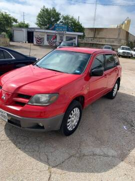 2003 Mitsubishi Outlander for sale at WF AUTOMALL in Wichita Falls TX