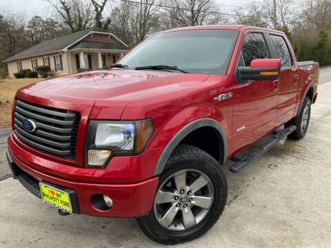 2012 Ford F-150 for sale at Cobb Luxury Cars in Marietta GA