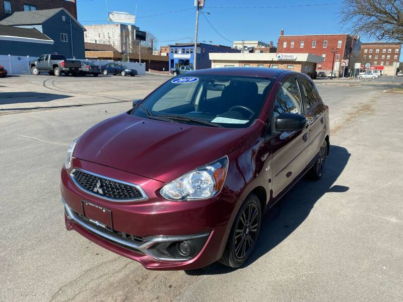 2019 Mitsubishi Mirage for sale at Midtown Autoworld LLC in Herkimer NY