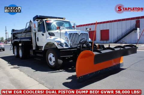 2008 International WorkStar 7400 for sale at STAPLETON MOTORS in Commerce City CO