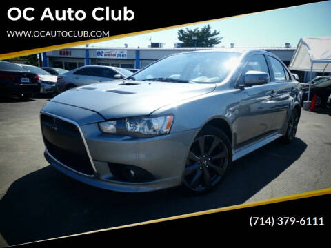 2015 Mitsubishi Lancer for sale at OC Auto Club in Midway City CA